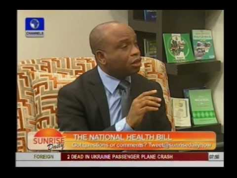 Health Bill: Lawmakers should resign for this bad law - Dr Njemanze
