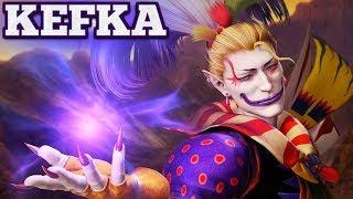 Dissidia Final Fantasy NT Character Trailer - KEFKA