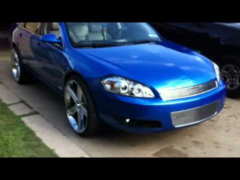 Stratto Blue Impala 24s Irocs Youtube