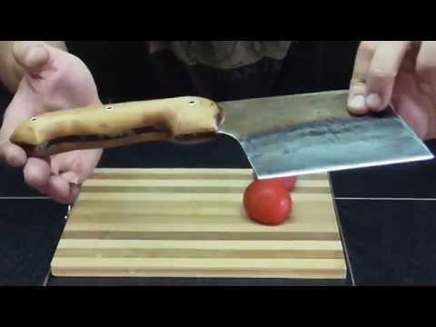 cleaver for cutting meat. как сделать? Рубящий инструмент на кухню.
