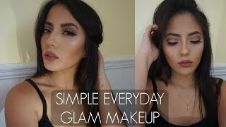 SIMPLE EVERYDAY GLAM MAKEUP LOOK | itsmeana