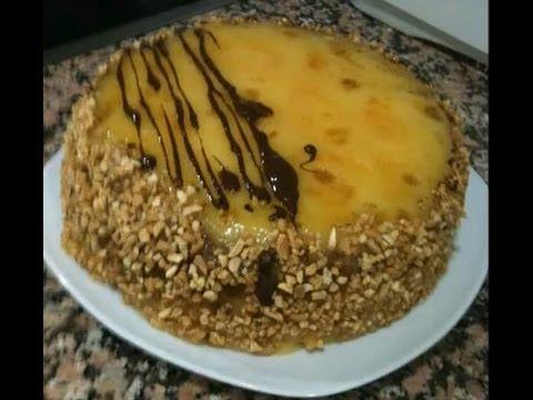 Tarta de yema quemada bizcocho con lady master future - Robot de cocina lady master future ...