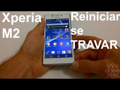 Sony Xperia M2 Reiniciar caso tenha Travado (DICA)