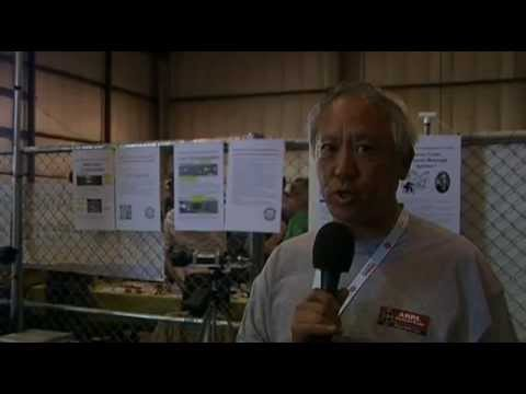 Brian Yee W6BY on microwave communications of amateur ham radio at 2012 Maker Faire Bay Area