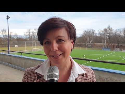 Náměstkyně hejtmana Martina Berdychová: Projekty akademie FC Hradec Králové mají smysl