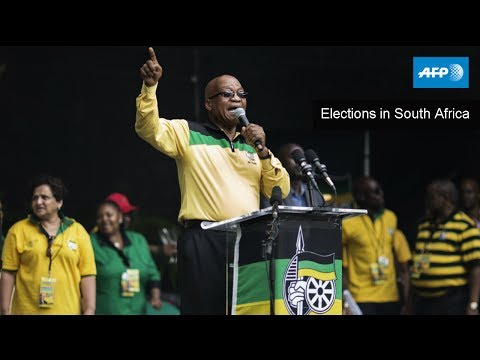 AFP Live - Elections in South Africa - May 7, 10:30 GMT