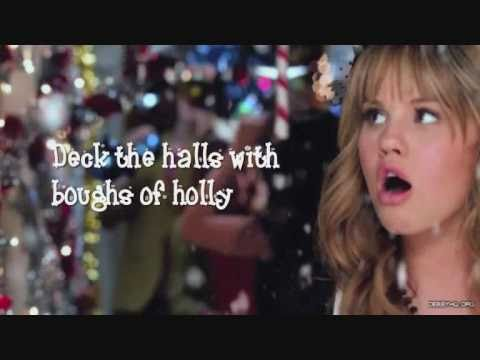 Deck The Halls - Debby Ryan Lyrics