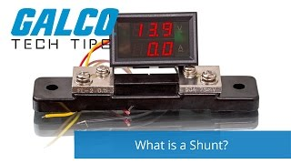 What is a Shunt? - A Galco TV Tech Tip