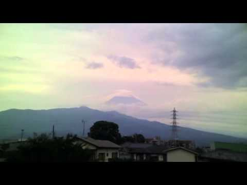August 19, 2015 Today's Mount Fuji 100-speed playback : World Heritage Sites in Japan