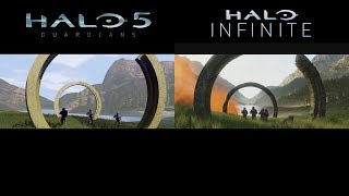 Halo Infinite Visual Comparison - Original Vs. Forged
