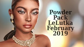 Powder Pack LeLutka February 2019 in Second Life