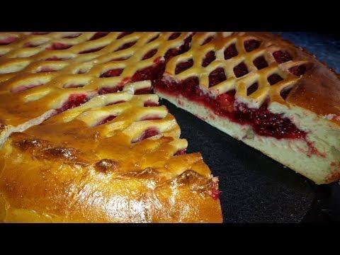 Малиновый пирог. Ароматное лакомство!