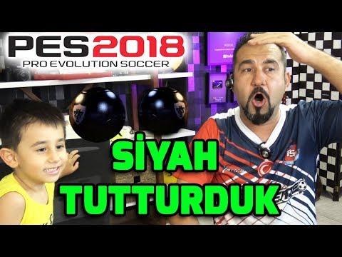 SİYAH GELDİ! MÜTHİŞ ORTA SAHA! | PES 2018 SİYAH TOP AÇILIMI