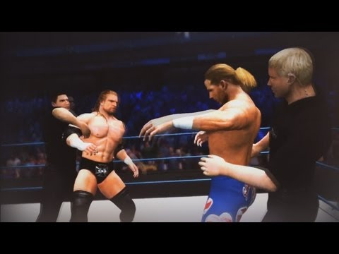 Shawn Michaels vs Triple H (Armageddon Promo - WWE' 12)