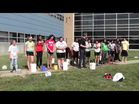 Carbondale Community High School Senior Class ALS Ice Bucket Challenge!