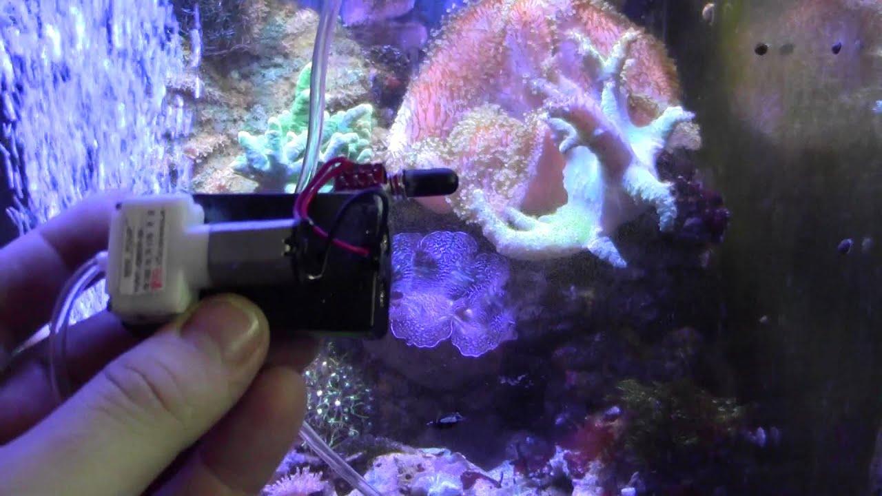 Компрессор для аквариума своими руками фото