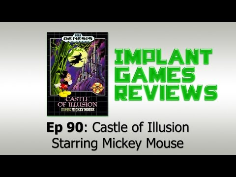 Castle of Illusion Starring Mickey Mouse Review (Sega Genesis) 60 fps