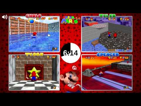 Super Mario 64 VS: Part 11 (4-Player)