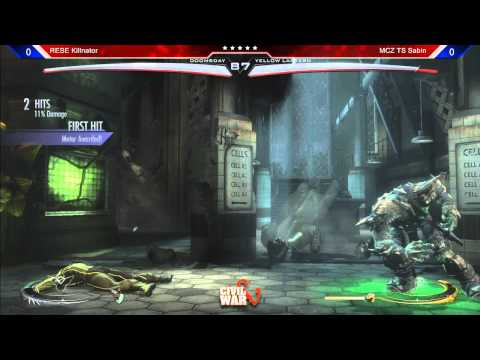Injustice @ Civil War 5: Killnator (Doomsday) vs TS Sabin (Green Lantern)