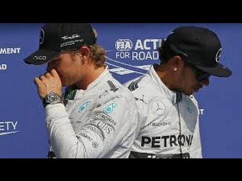 Nico Rosberg Hit Me On Purpose, Claims Lewis Hamilton
