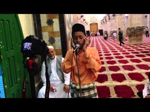 Ustaz Amin - Azan Masjidil Aqsa Oleh Pelajar Tahfiz Malaysia