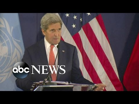 John Kerry Outlines Steps to Achieve Ceasefire in Syria