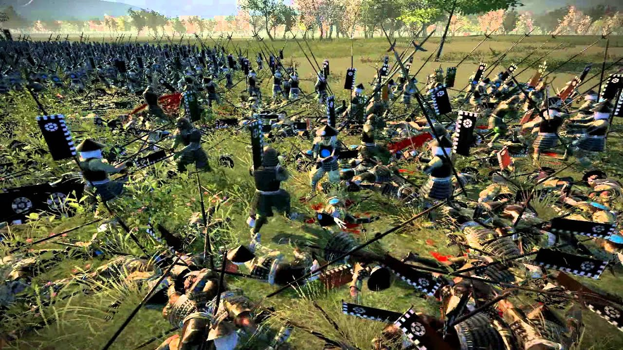 Total War Shogun 2, 30 Katana hero vs 1800 Yari Ashigaru ...