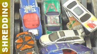 Shredding Metal Cars Toy v69