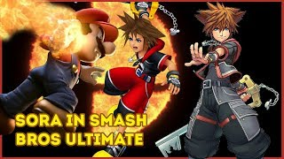 LEAK | SORA PLANNED FOR SUPER SMASH BROS ULTIMATE STARTING 9 MONTHS AGO?!