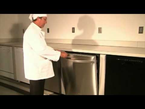 Whirlpool Dishwasher: Model WDT910SAY Pizza and Cake Demo