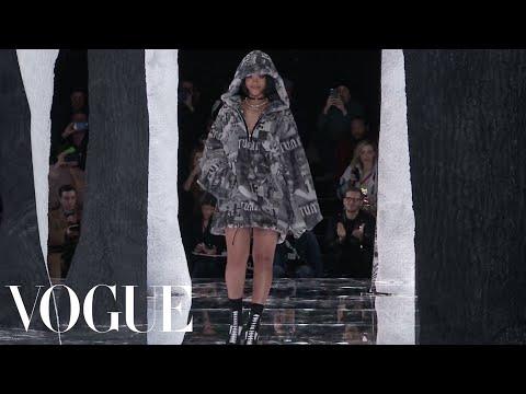 Rihanna's Fenty x Puma Fall 2016 Ready-to-Wear | New York Fashion Week