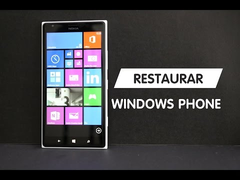 Como restaurar o Windows Phone - (Factory Reset Windows Phone)