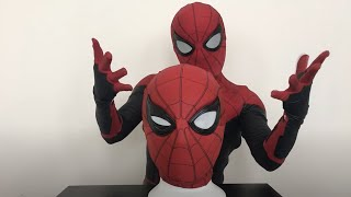 Spiderman Far From Home Unboxing Movie realistic Faceshell (Spiderman Far From Home)