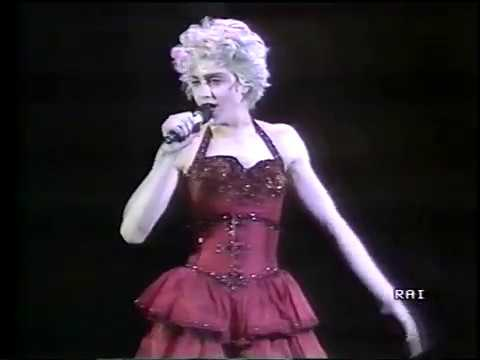 MADONNA - HOLIDAY - TORINO 1987