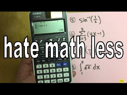 Casio FX-991 EX classwiz calculator tutorial (perfect for algebra. FE exam. EIT exam)
