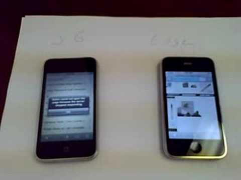 iPhone 3G vs. Edge Music Videos