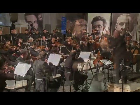 G.F.HANDEL - SARABANDE (theme from BARRY LYNDON) - LUCCA PHILHARMONIC - ANDREA COLOMBINI
