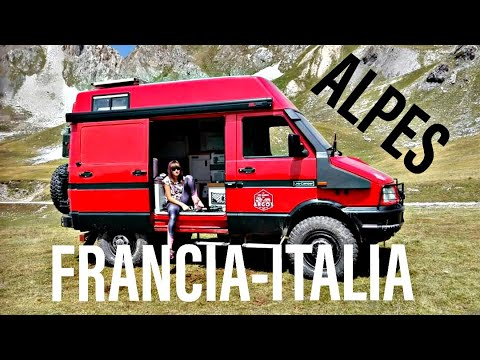 RUTA DE LOS GRANDES ALPES. FRANCIA & ITALIA (IVECO DAILY 4X4)