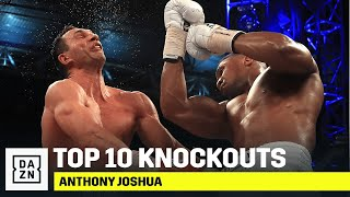 TOP 10 KNOCKOUTS | Anthony Joshua