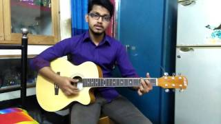 O Amar Bondhu go Covered by Topu Guitar Chords,By The Family