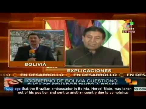 Tensions remain high as Bolivian senator is given asylum in Brazil