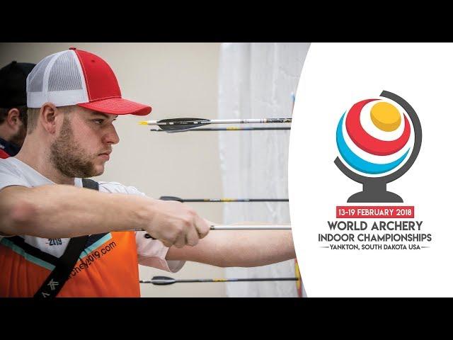 Compound finals PYankton 2018 World Archery Indoor Championships