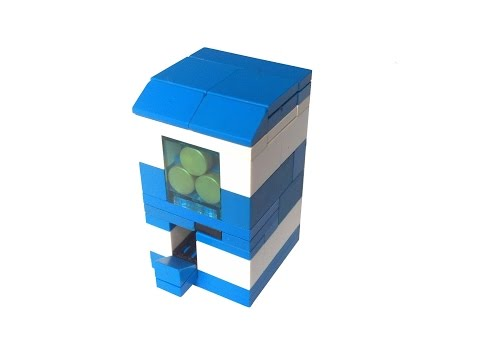How to build a functioning Lego Vending Machine