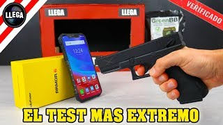The toughest cell phone in the world ULEFONE Armor 6 | Reacting to the Extreme Destruction TEST