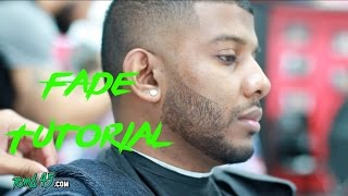 Barber Tutorial! Short Taper Fade on Meami (russell wilson)