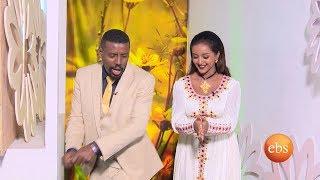 Friyat and Alemayehu host EBS special Mesekel show