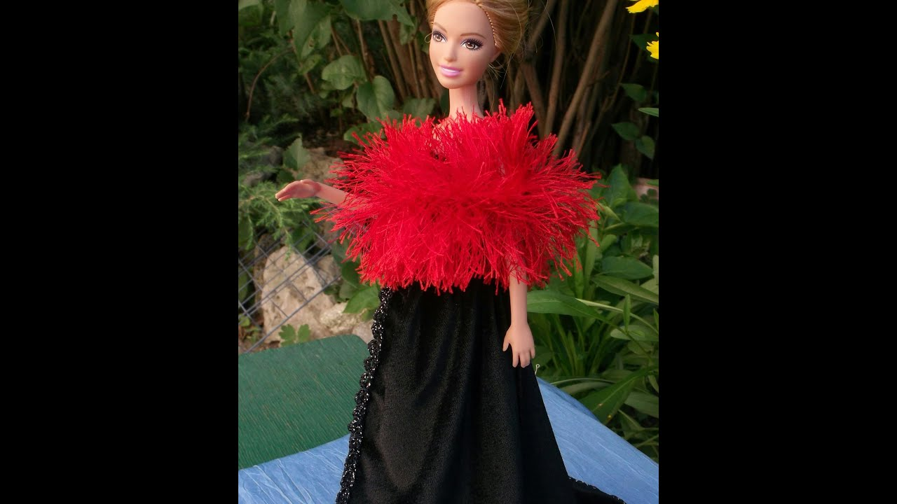 Платье для кукол своими руками фото