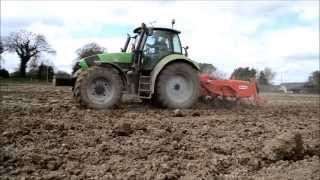 Planting Potatoes The Deutz Way.
