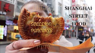 Scallion Pancakes in Shanghai! | Street food | Eats the Streets in Shanghai, China