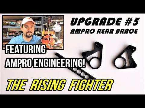 Tamiya: The Rise of THE RISING FIGHTER #5 Step by Step Upgrade - AMPRO Rear Brace!
